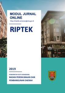Cover modul online Riptek